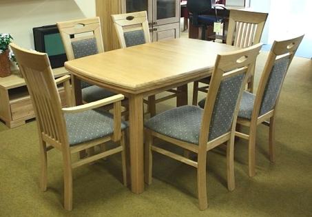 Tischgruppe Eiche