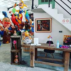 accueil du Musée du Carnaval