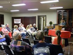 June 2011 Nick Adams, Special Speaker