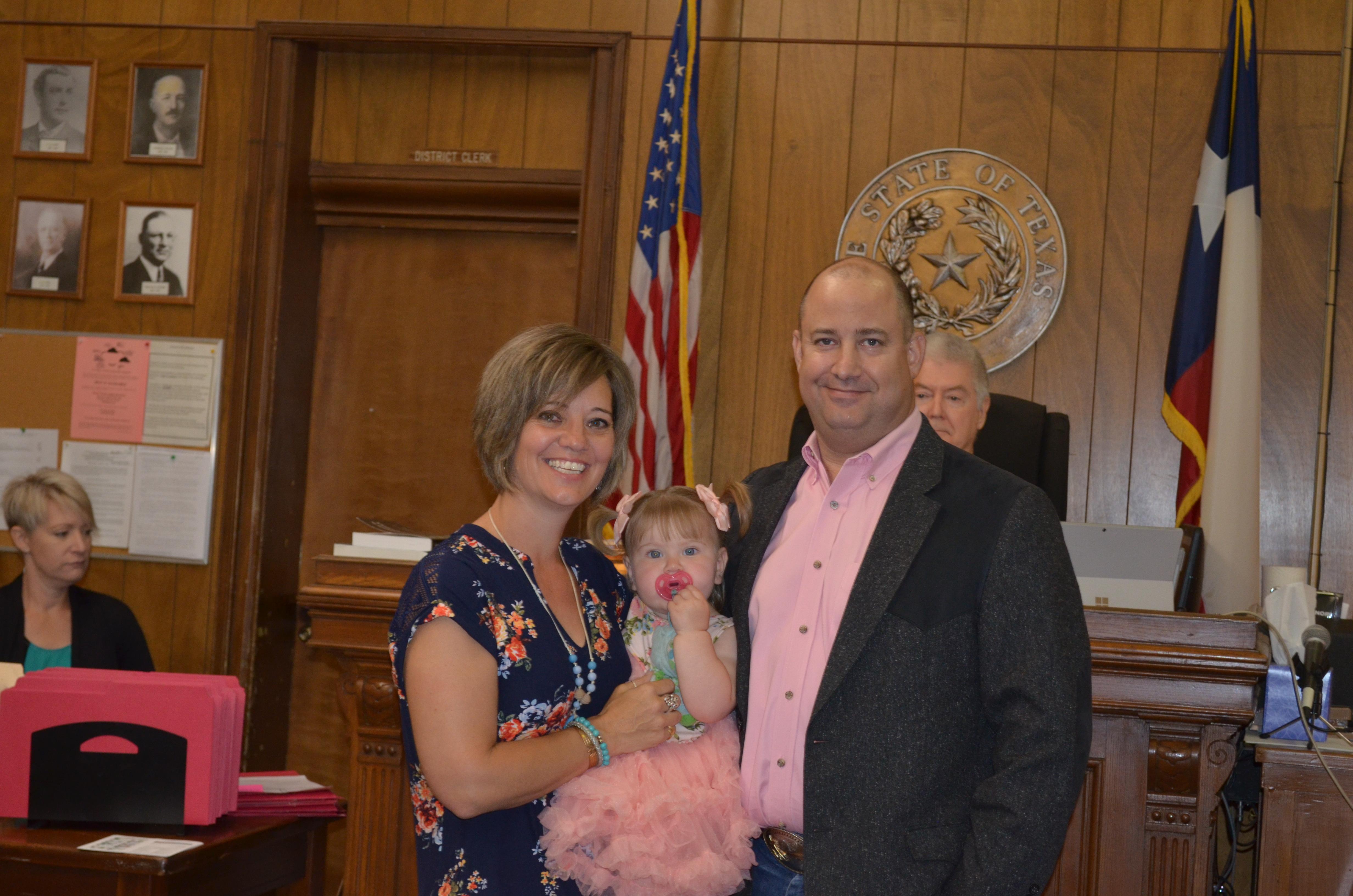 Adoption Day-Tony, Mandy, Andee