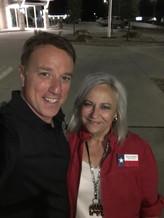Senatorial Candidate Pat Fallon & Van Baale