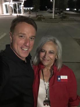Senator-Elect Pat Fallon and Me