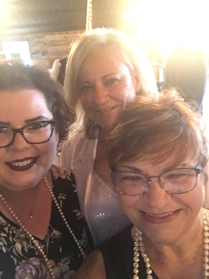 Sisters Pic at Katys wedding