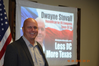 Dwayne Stoval speaking to our group in 2015