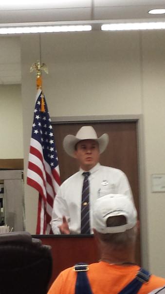 Texas Ranger Michael Schaub