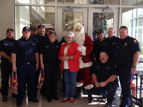 Santa, Me, Firefighters