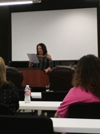 Pct 6 Chair Vicki Briscoe calls the meeting to order in my absence