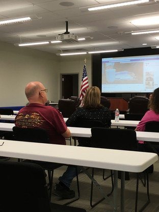 Treasurer-Elect Brad Campsey attended meeting