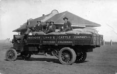 Matador Cattle Company Feed Truck