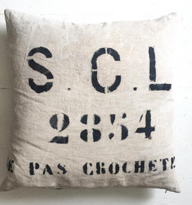 Euro Linen / Patine Pillows