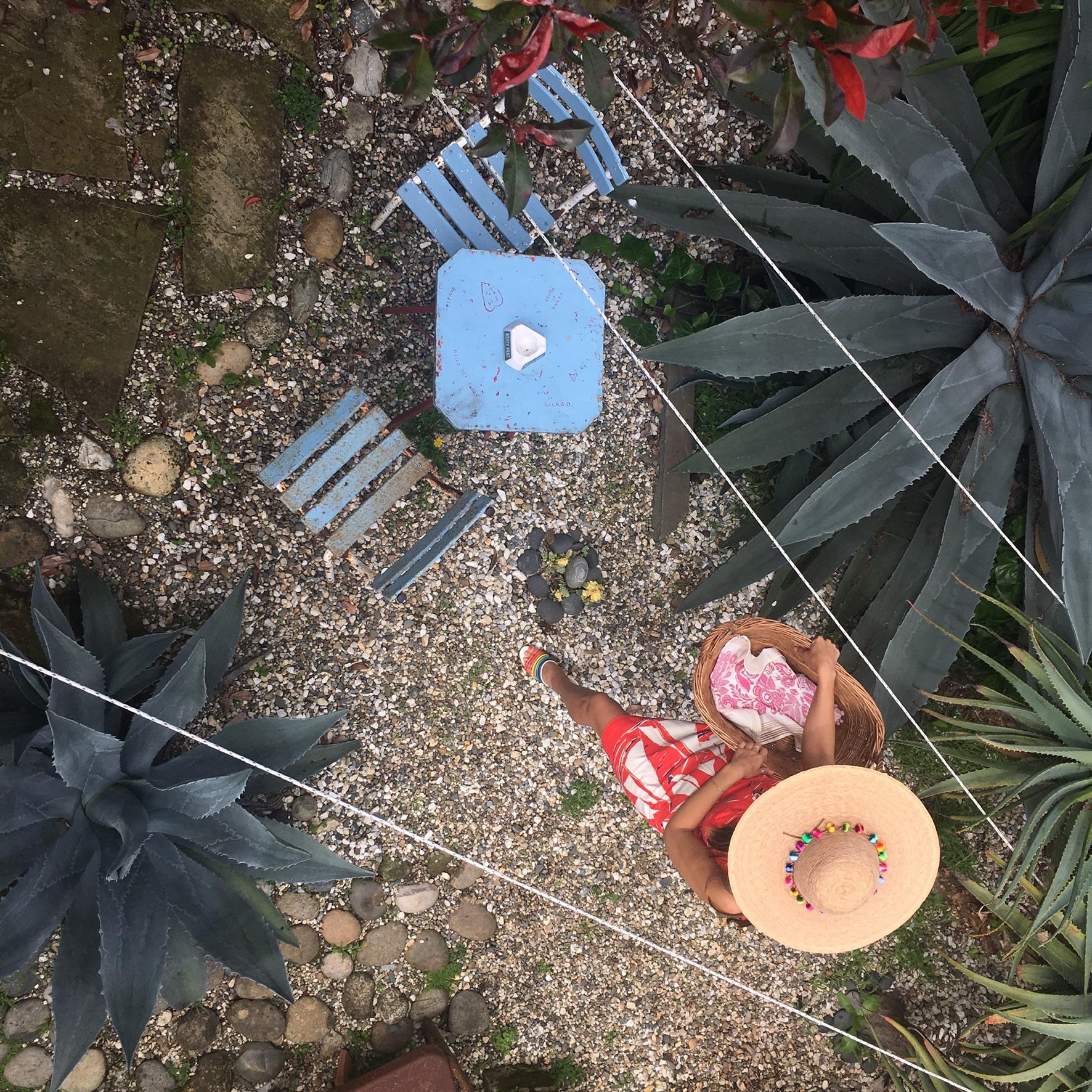 Vintage garden set
