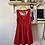 Thumbnail: Forever21 Red Open Back Dress