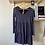 Thumbnail: Knit Tiered Navy Blue Dress
