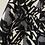 Thumbnail: Zara BW shimmery skirt