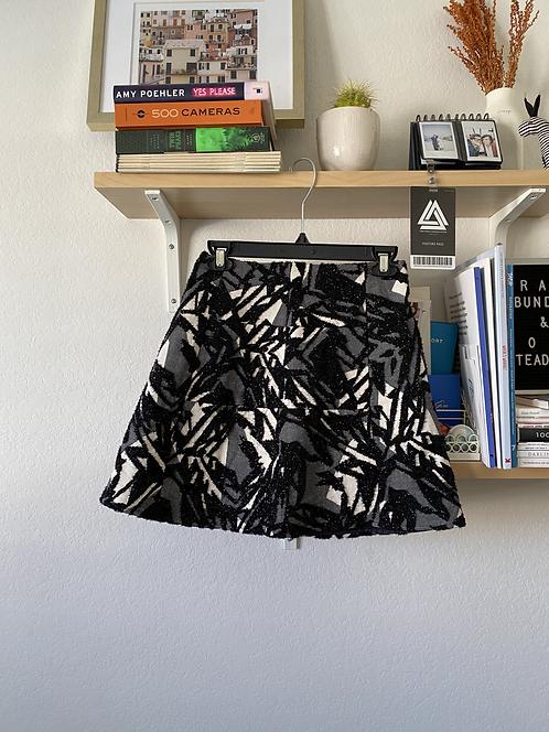 Zara BW shimmery skirt