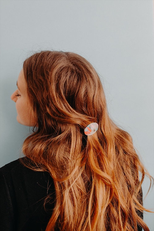 The Oval Barrette