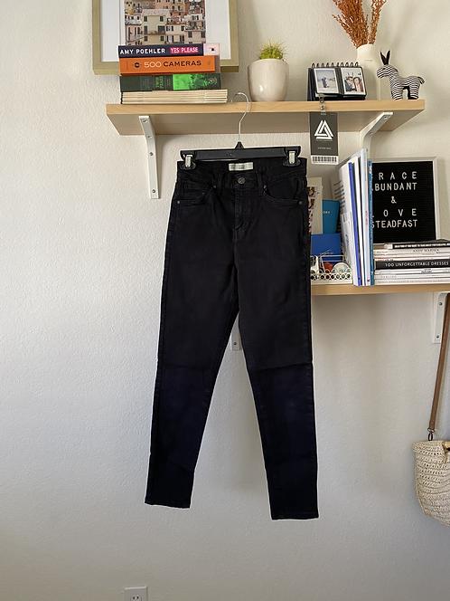Topshop Jamie Blacl Jeans W28