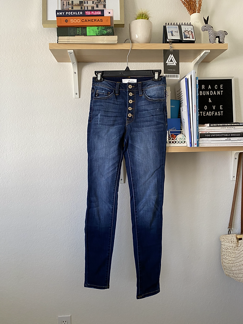 Buttonfly jeans w26-28
