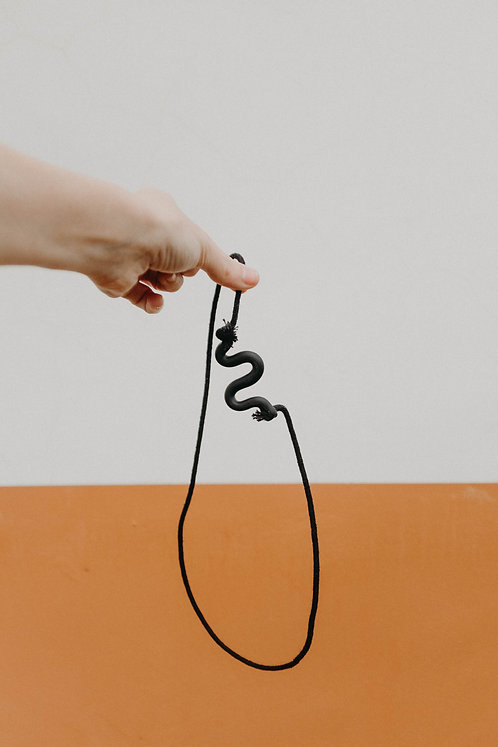 The Squiggle Necklace