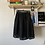 Thumbnail: F21 Gingham Organza-esque black skirt