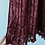 Thumbnail: F21 Wine Pleated Lace Skirt