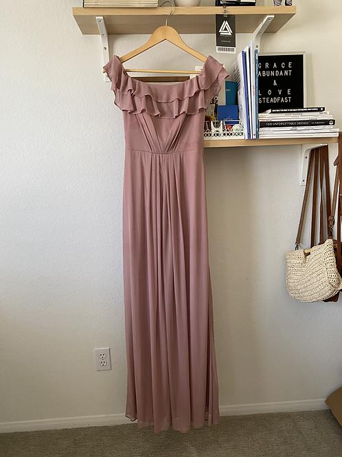 Azazie Dusty Rose Dress