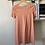 Thumbnail: Peach Laser Cut Shift Dress