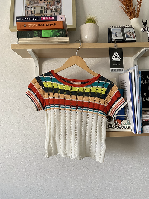 UO Striped Knit Top