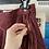 Thumbnail: American Apparel Maroon Corduroy Skirt