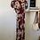 Thumbnail: NastyGal Red Floral Wrap Dress