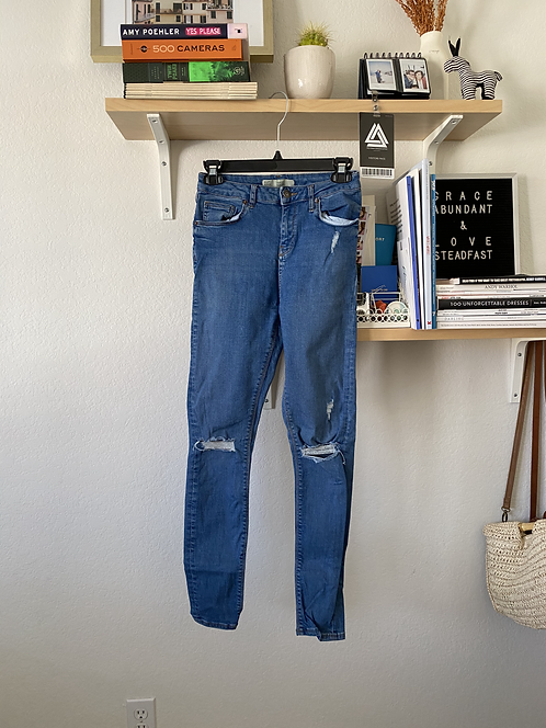 Topshop Jamie skinny jeans W28