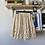 Thumbnail: Crochet Lace Beige Skirt