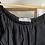 Thumbnail: Black off-the-shoulder dress