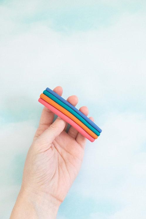 Medium Rainbow Barrette