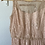 Thumbnail: Lace, Embellished Dusty Rose Dress