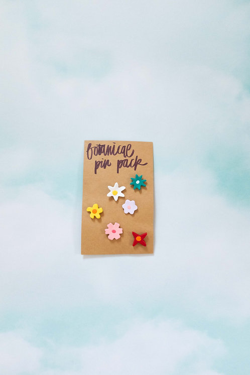 Botanical Pin Pack