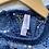 Thumbnail: Crochet Lace Trim Blue Tank