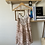 Thumbnail: Open Back Pink Patterned Dress