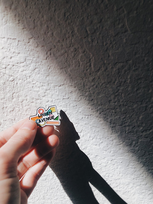 LINDEN AVE EXCLUSIVE ENAMEL PIN