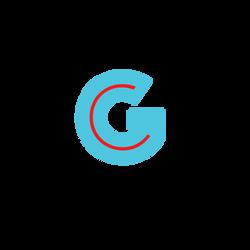 gc logo t blu