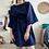 Thumbnail: Navy Blue Kimono-Style Dress