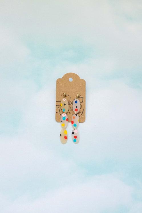 Speckled Summer Earrings