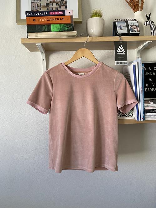 Soft Velvet Pink Shirt