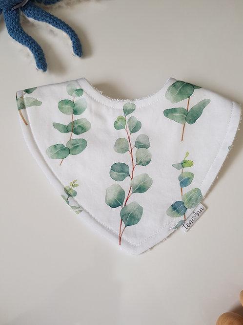 Eucalyptus Dribble Bib