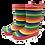 Thumbnail: Kids Gumboot - Rainbow Stripe
