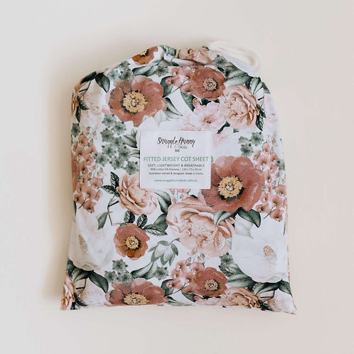 Florence Fitted Cot Sheet