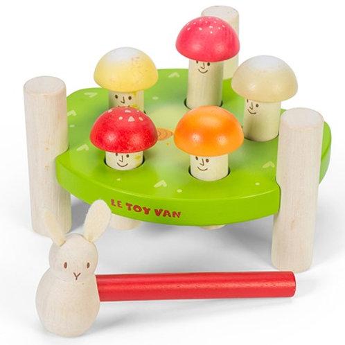 Mr Mushroom Hammer Game