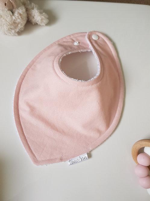 Baby Pink Dribble Bib
