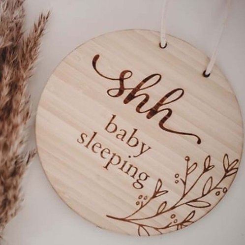 Baby Sleeping Plaque