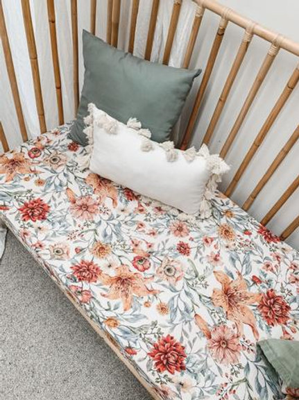 Le Piccadilly Muslin Cot Sheet